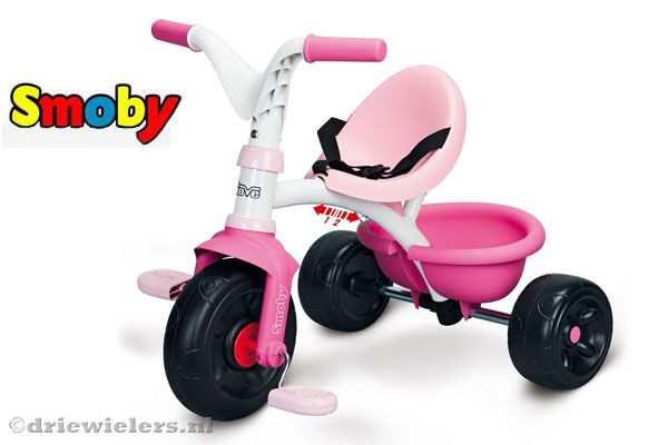 Smoby Be Move driewieler met duwstang.