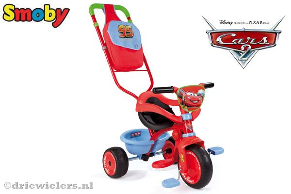 Smoby driewieler Be Fun Comfort Cars 2.