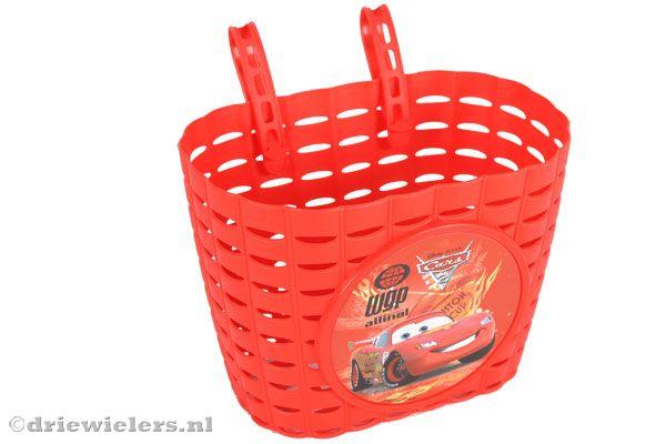 De Kleur Rood : Widek stuurmandje cars rood driewielers