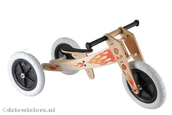 Nieuw Houten driewieler - Altijd de laagste prijs bij driewielers.nl AF-46