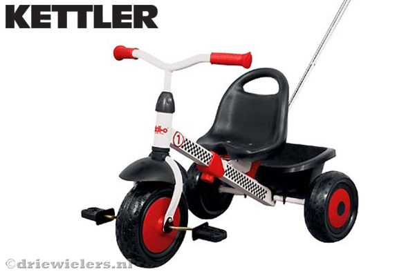 Driewieler Happytrike racing van Kettler
